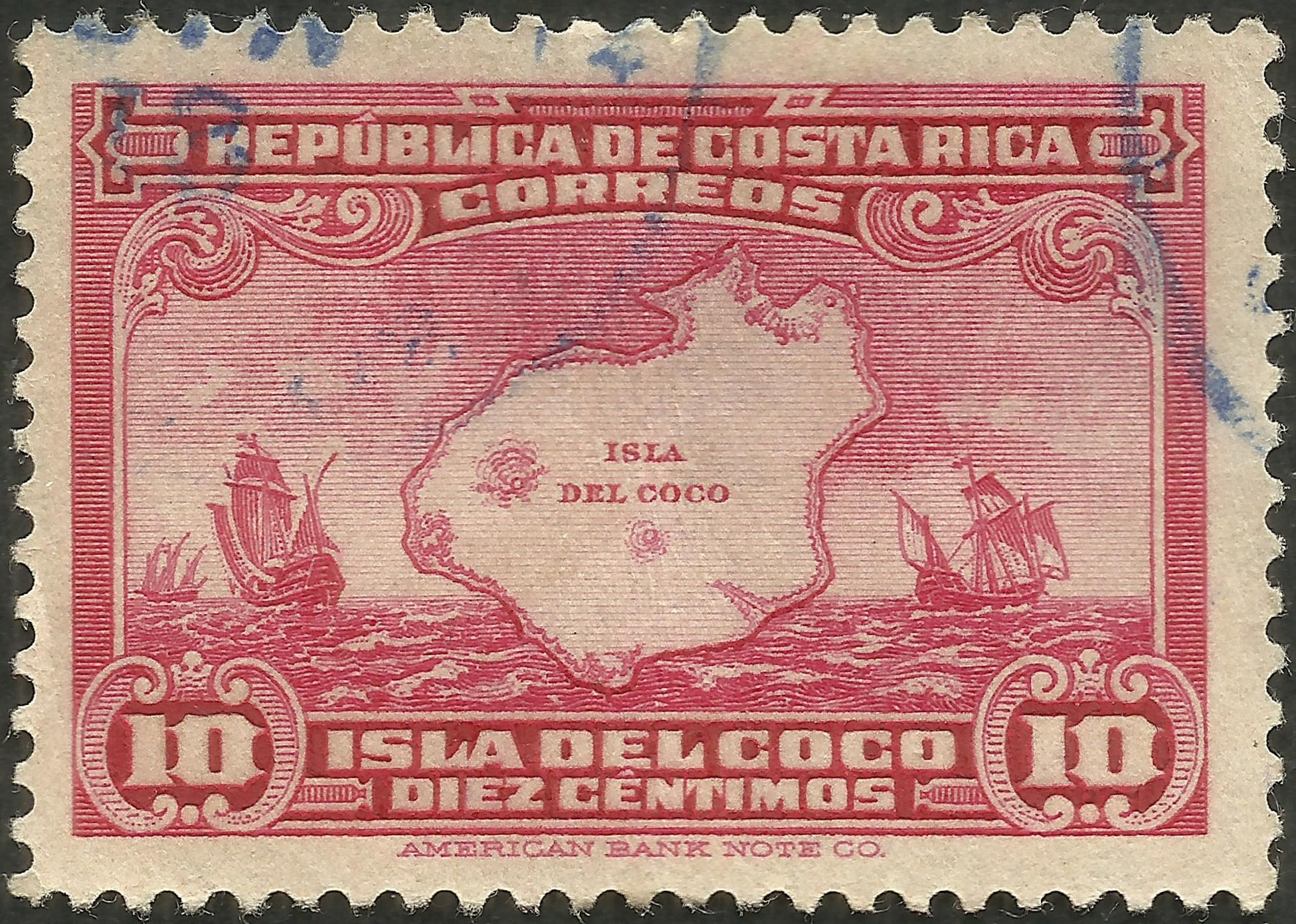 Costa Rica - Scott #178 (1936)