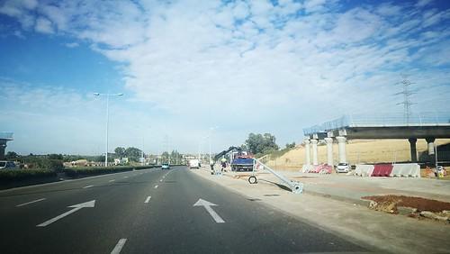 Avenida de las Universidades obras de la SE-40