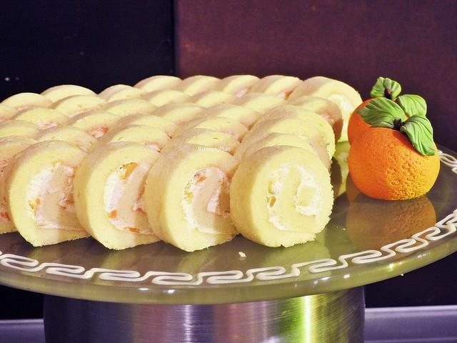 Cempedak Swiss Roll Cake