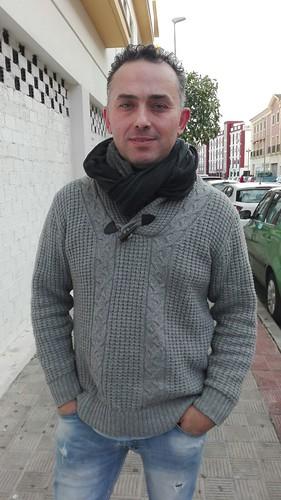 Antonio G. Clavijo, autor de la comparsa Los Destronados