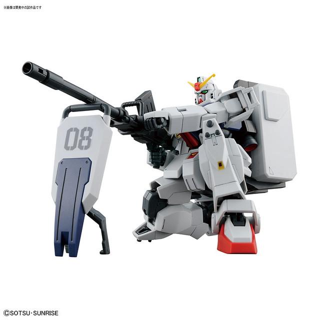 【官圖更新】HGUC 《機動戰士鋼彈 第08MS小隊》「陸戰型鋼彈」1/144比例 組裝模型作品 ! 陸戦型ガンダム