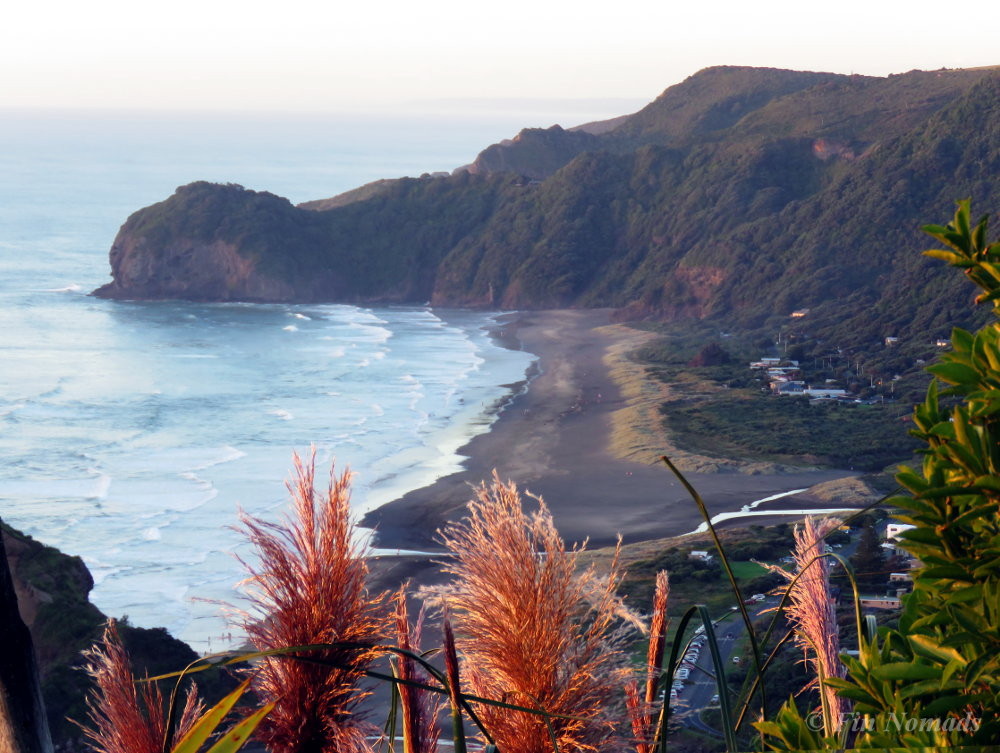 Piha beach view