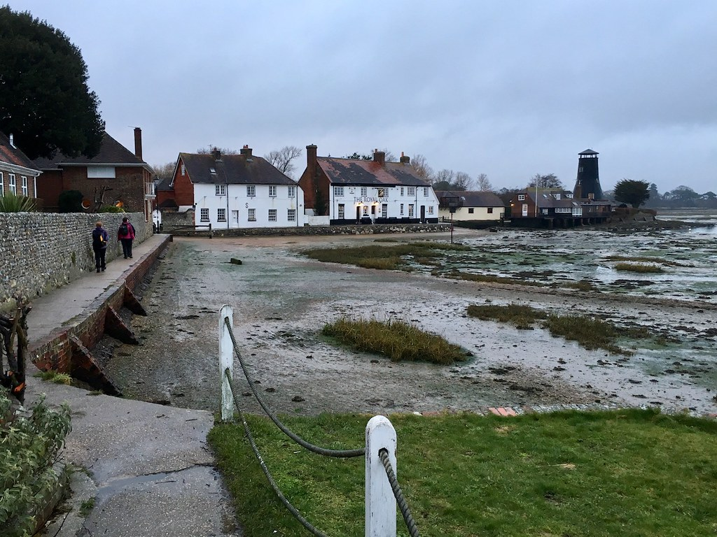 Langstone Portsmouth to Hayling Island walk