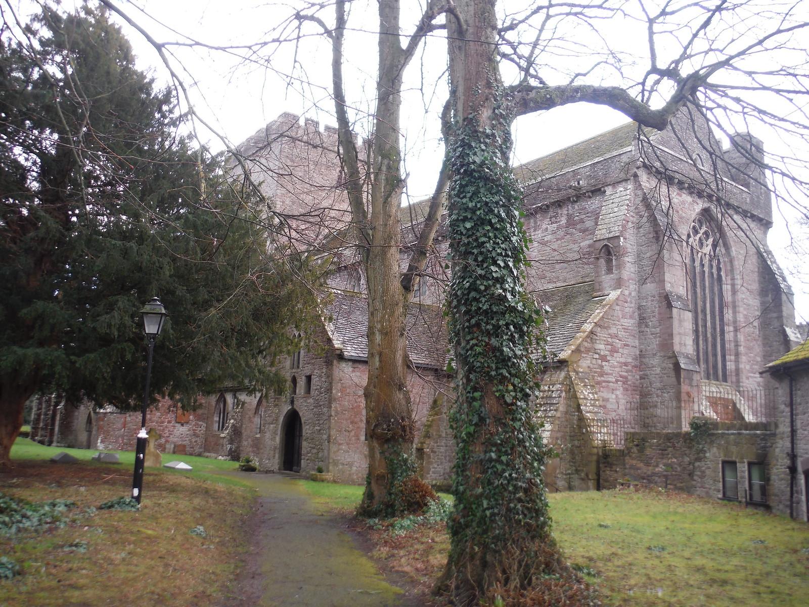 Brecon Cathedral SWC Walk 306 - Brecon Circular (via Y Gaer, Battle and Pen-y-crug)