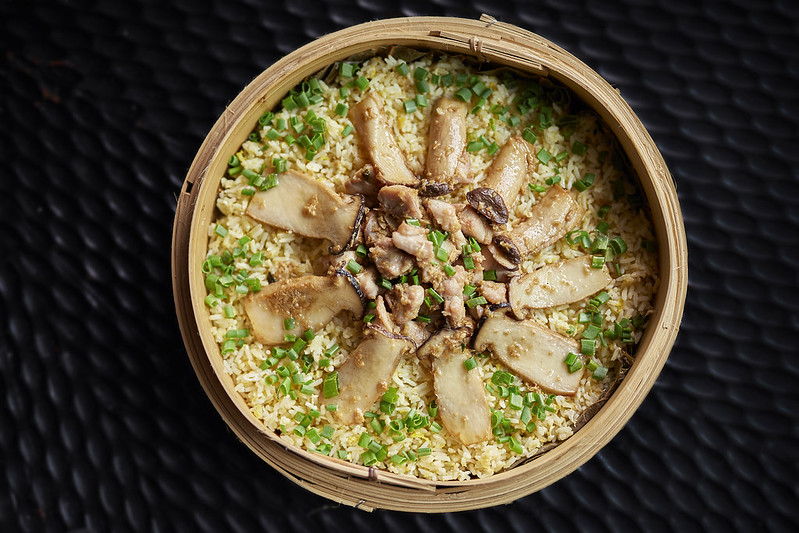 CNY2018_TheWestinKL_Fried Rice with Sesame Oil and Diced Chicken and Chopped Young Ginger