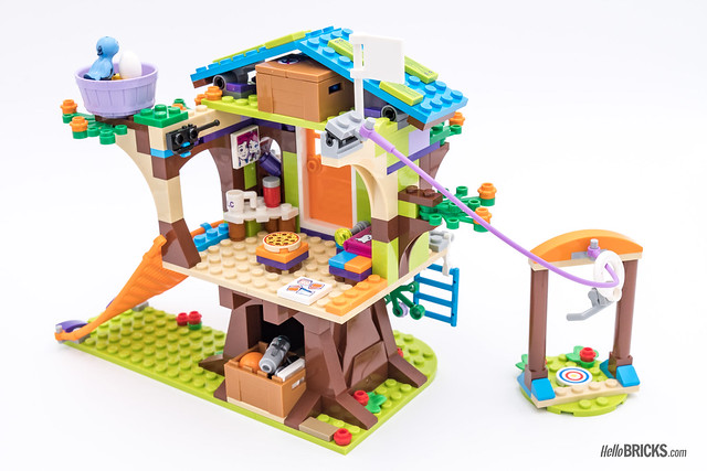 REVIEW LEGO Friends 2018 - LEGO 41335 Mia's Tree House 2