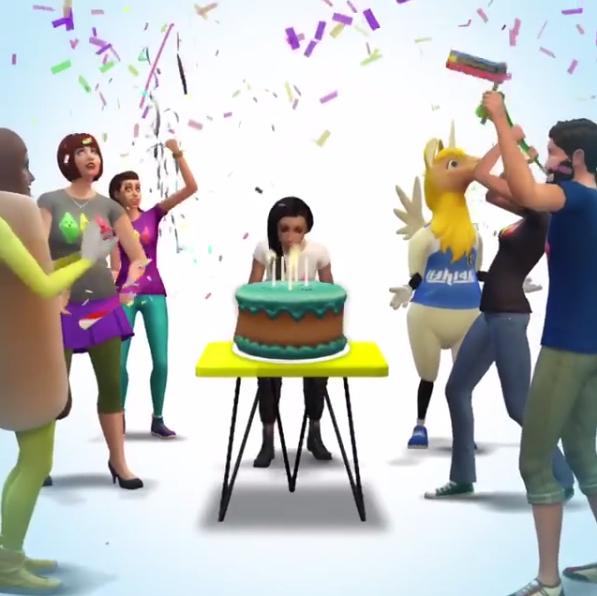 Atualização 18 Anos The Sims