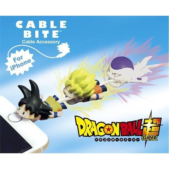 天啊!眾多 JUMP 角色加入咬咬行列!CABLE BITE 《七龍珠》《ONE PIECE》《銀魂》iPhone充電線保護套預計 3 月發售!