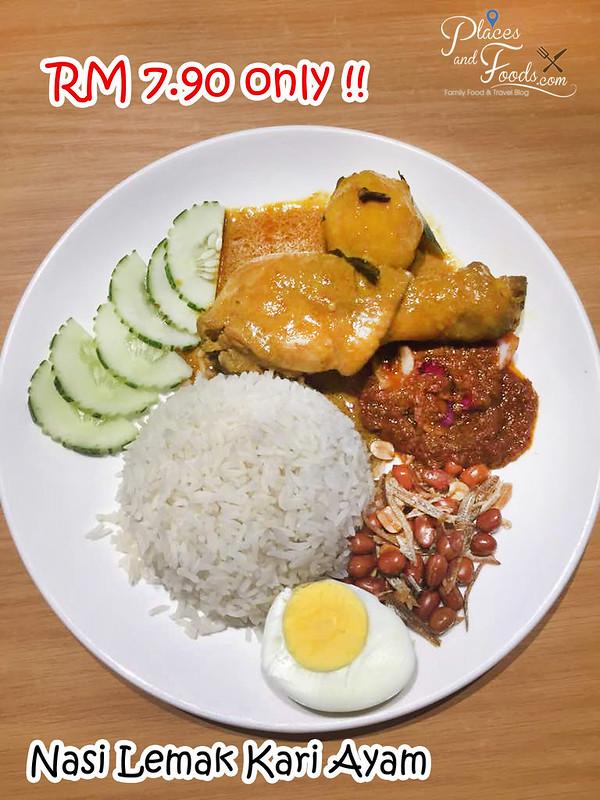promo yellow spoon nasi lemak kari ayam