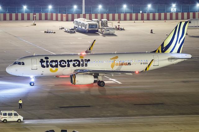 Tigerair Taiwan A320-200(WL) B-50011 001