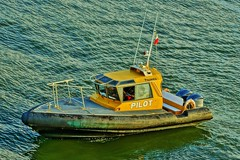 Pilot Boat in the Pacific