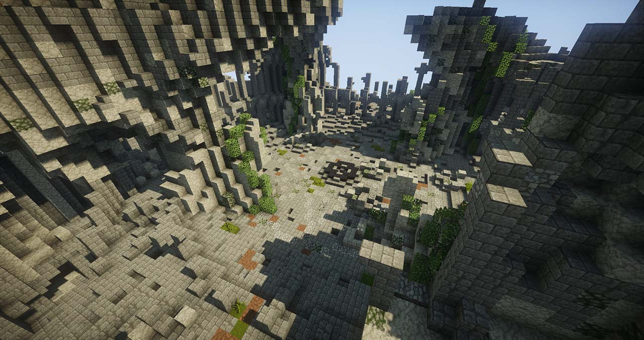 Minecraft Middle Earth By @mcmiddleearth: Weathertop (Amon Sûl) – The Hill Hobbits & Aragorn Are Ambushed By Ringwraiths