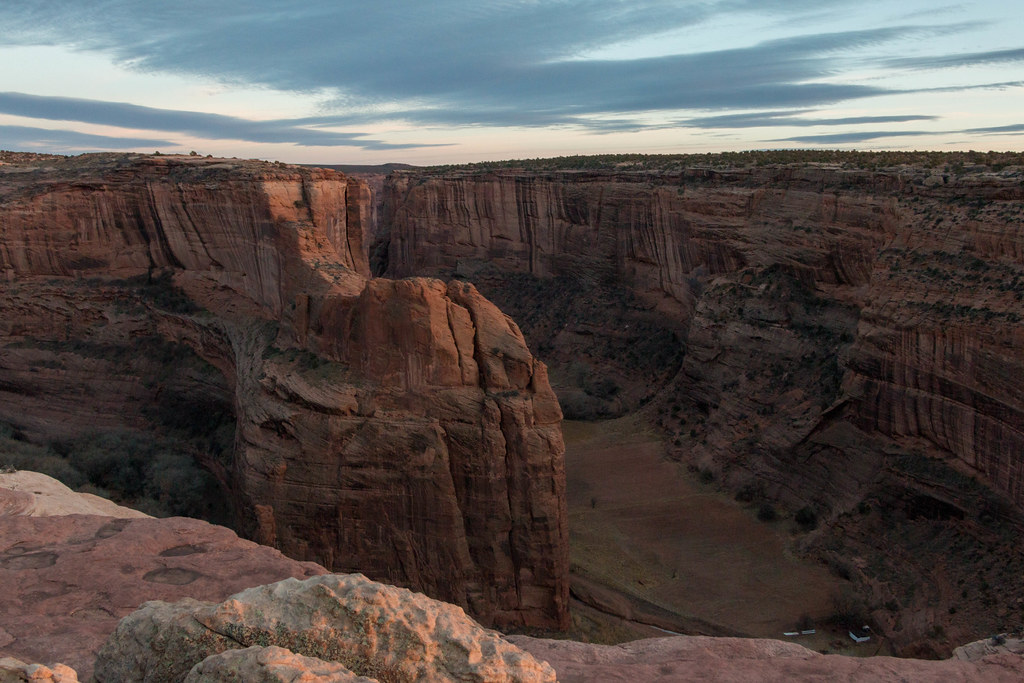 12.25. Canyon de Chelly. North