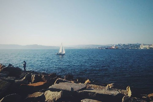 Volviendo a puerto. #Coruña #phonephoto #sundaypic #photography #vscocam #vsco