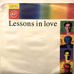 LEVEL 42:LESSONS IN LOVE(JACKET A)