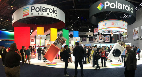 Polaroid Exhibit at CES (1598)