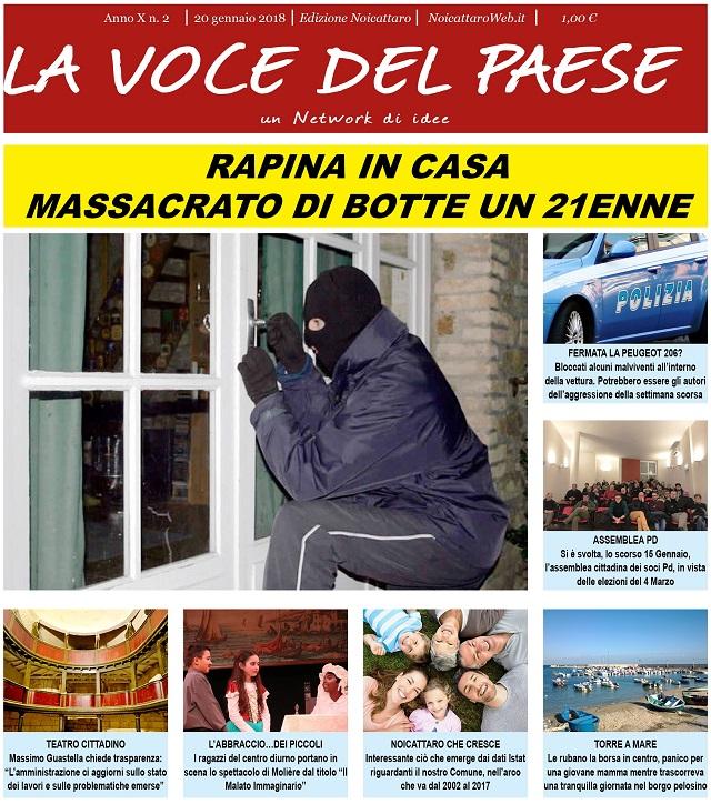 Noicattaro. Prima pagina n. 2-2018 intero