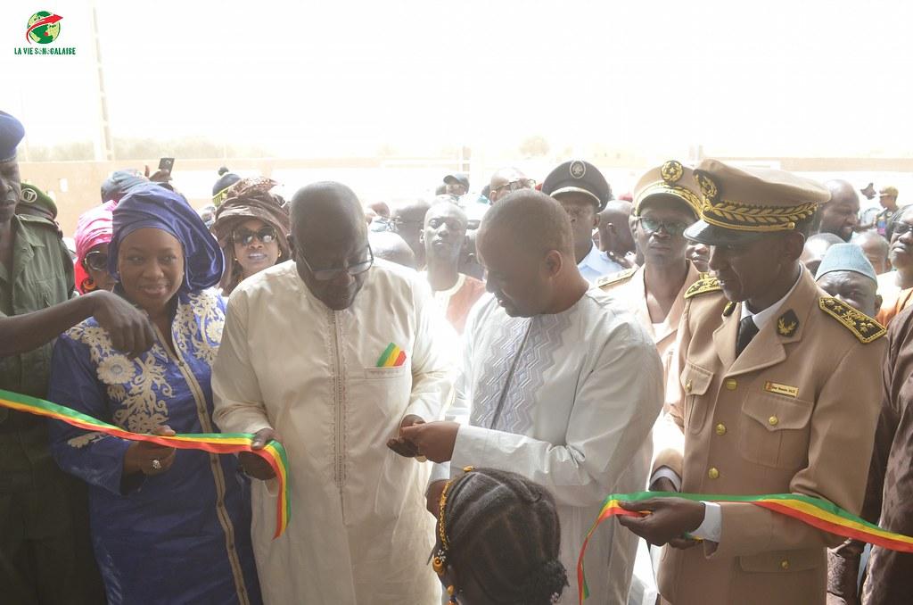 Inauguration d'infrastructures  de base à Mbakhna Par la Fondation SONATEL (36)