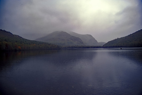Lower South Branch Pond, Baxter State Park, Maine - Kodachrome - 1987