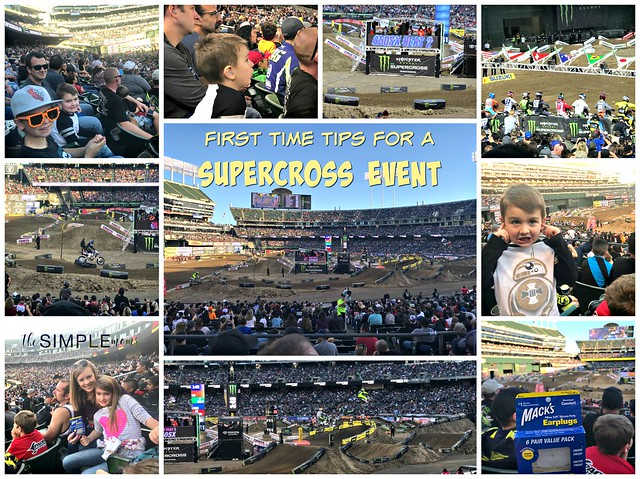 first time tips for a supercross event