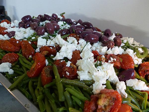 salade de haricots