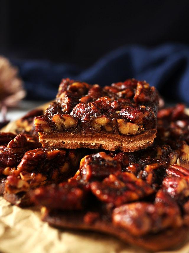 全素焦糖胡桃方塊 vegan-caramel-pecan-bars (4)
