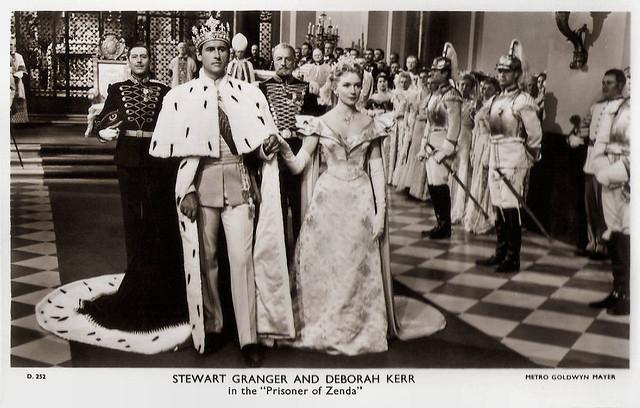 Stewart Granger and Deborah Kerr in The Prisoner of Zenda (1952)