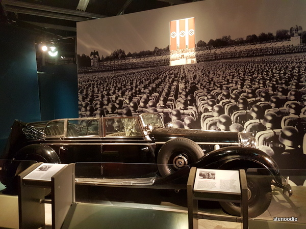 Hitler's Benz parade car