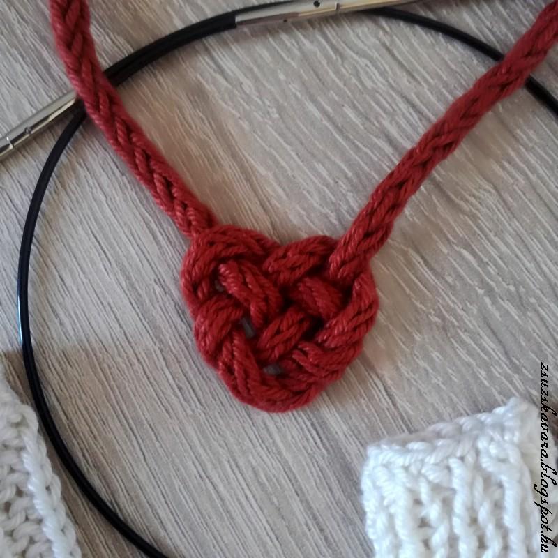 i-cord, celtic knot,  celtic heart