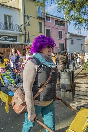 Caiazzo (CE), 2018, Carnevale: la sfilata delle carriole.