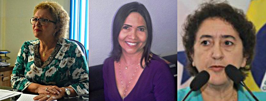 Nélio Aguiar veta irmã de Lira Maia para o comando da Semed em Santarém, Marluce, Mara e Maria José