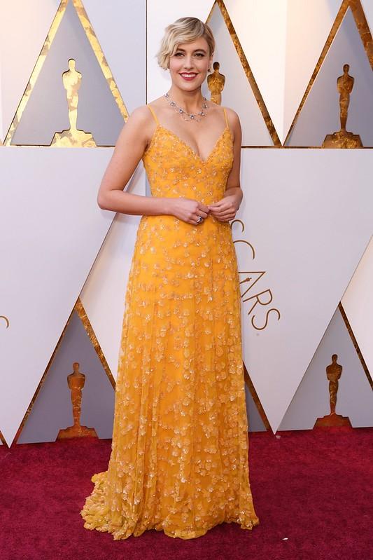 Greta Gerwing Oscars 2018