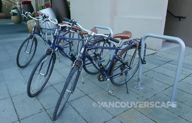 Westin Bayshore Hotel loaner bikes