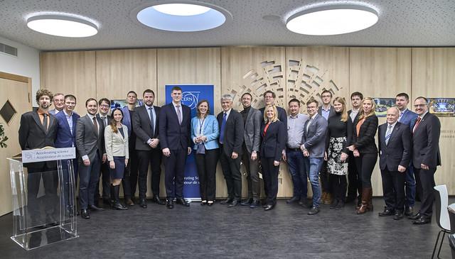 2018.01.17. vizīte Eiropas Kodolpētniecības centrā (CERN)