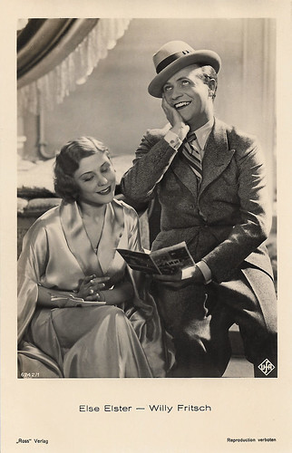 Else Elster and Willy Fritsch in Der Frechdachs (1932)