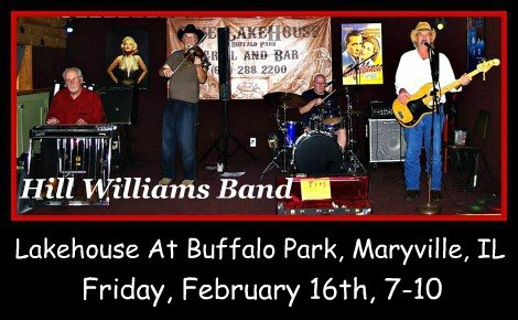 Hill Williams Band 2-16-18