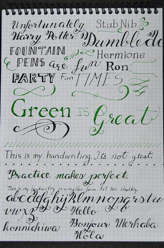 Fountain Pen Fun