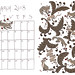 March 2018 Calendar - Greys