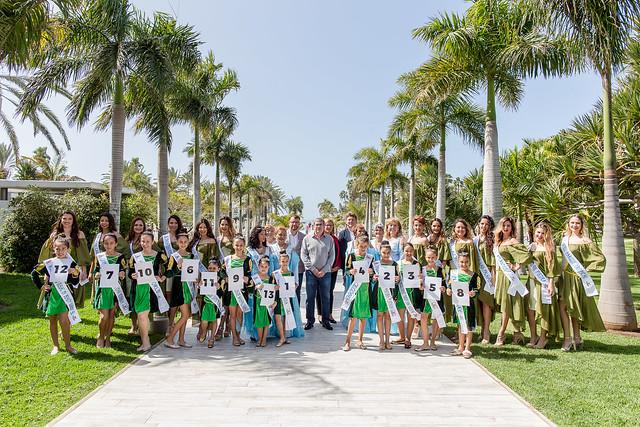 Presentación de candidatas a reina Carnaval Internacional de Maspalomas FestuM+ 2018