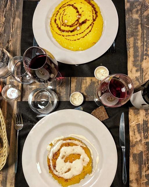 Osteria dei Malnat - Risotto alla milanese e riso al salto