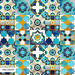 My @spoonflower Spanish tiles inspiration entry. by Selma CC