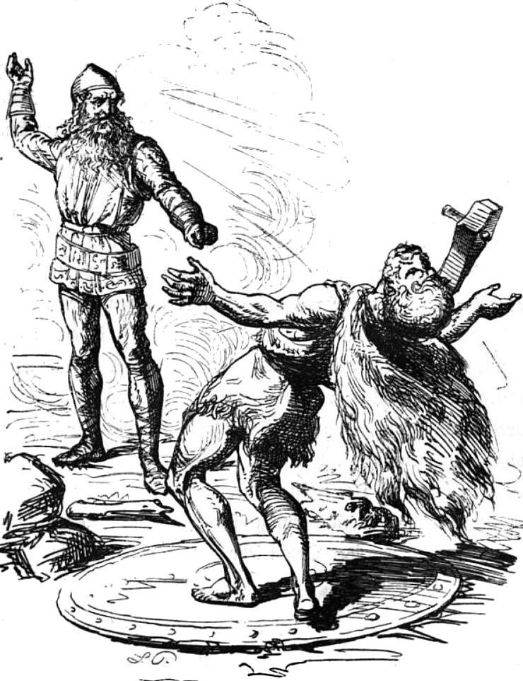 Thor-and-Hrungnir