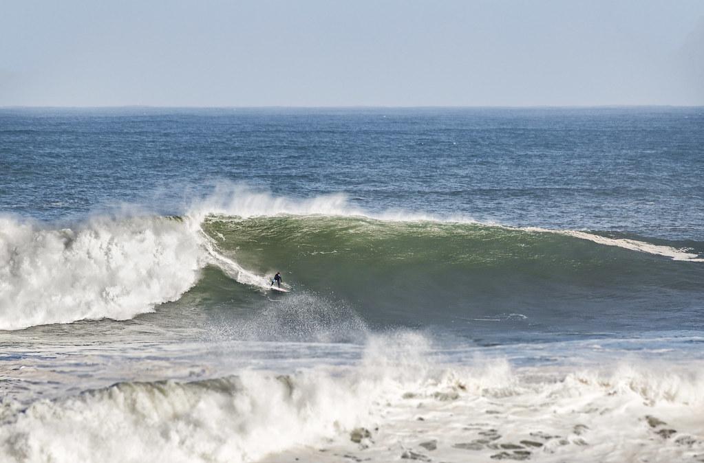 La ola del día