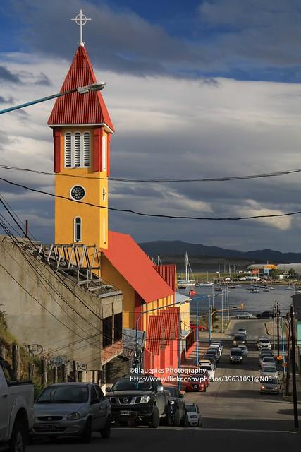 Ushuaia, church - Explore