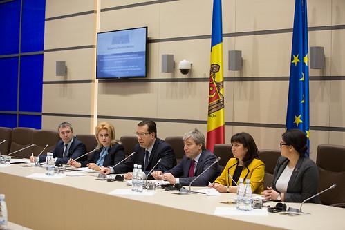 29.01.2018 Întrevedere deputați, fracțiunea parlamentară PD și grupul PPE cu delegația comună a Comisiei de la Veneția și OSCE/ODIHR