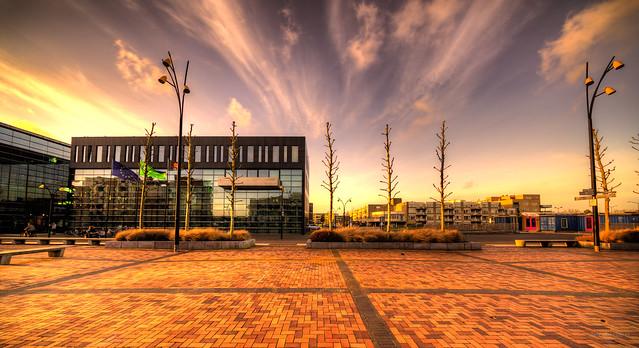 City hall, Heerhugowaard, The Netherlands.