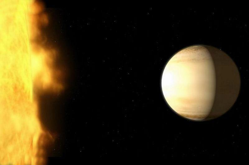 Hubble observe l'atmosphère d'une exoplanète plus en détail que jamais auparavant