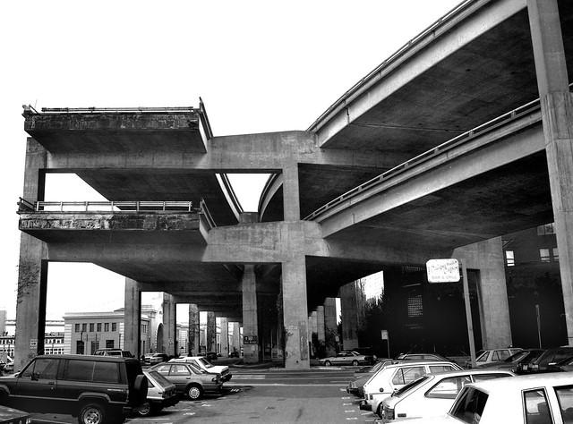 Embarcadero Freeway, San Francisco 1990