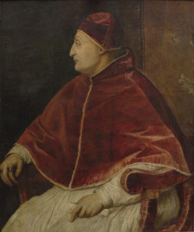 Portrait of Sixtus IV, by Titian