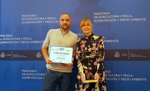 """18-01-2018 Premi a """"La ciudad más sostenible"""""""
